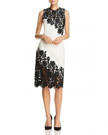 Alice   Olivia Margy Appliqu  d Sheath Dress at Bloomingdales