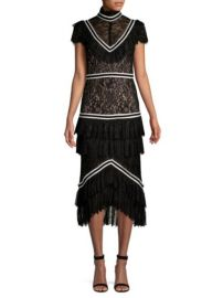 Alice + Olivia Annetta Dress at Saks Fifth Avenue