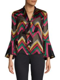 Alice + Olivia Meredith Blouse at Saks Fifth Avenue