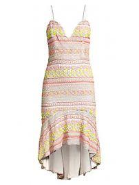 Alice   Olivia - Amina Beaded Sweetheart Dress at Saks Fifth Avenue