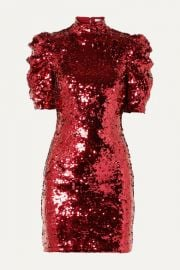 Alice   Olivia - Brenna sequined tulle mini dress at Net A Porter