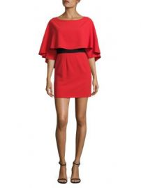 Alice   Olivia - Cairo Cape Dress at Saks Off 5th