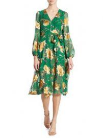 Alice   Olivia - Coco Devor  Midi Dress at Saks Fifth Avenue