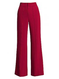 Alice   Olivia - Dylan High-Waist Wide-Leg Pants at Saks Fifth Avenue