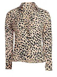 Alice   Olivia - Eloise Leopard Print Blouse at Saks Fifth Avenue