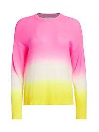 Alice   Olivia - Gleeson Dip-Dye Pullover at Saks Fifth Avenue