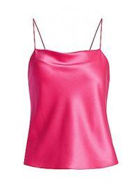 Alice   Olivia - Harmon Drapey Slip Camisole at Saks Fifth Avenue