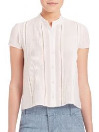 Alice   Olivia - Jaclyn Blouse at Saks Off 5th