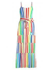 Alice   Olivia - Janan Striped Maxi Dress at Saks Fifth Avenue