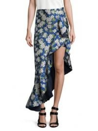 Alice   Olivia - Lovetta Floral High Low Skirt at Saks Fifth Avenue