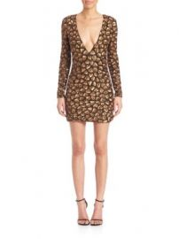 Alice   Olivia - Nora Sequined Dress at Saks Off 5th