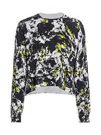 Alice   Olivia - Quintin Printed Pullover at Saks Fifth Avenue