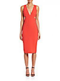 Alice   Olivia - Riki Midi Dress at Saks Off 5th