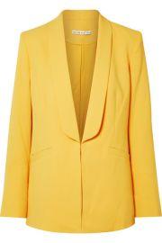 Alice   Olivia - Skye crepe blazer at Net A Porter