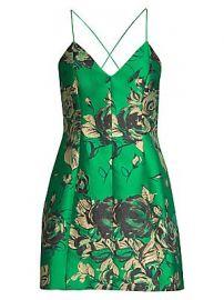 Alice   Olivia - Tayla Floral Sleeveless Dress at Saks Fifth Avenue
