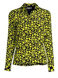 Alice   Olivia - Willa Silk Floral Shirt at Saks Fifth Avenue