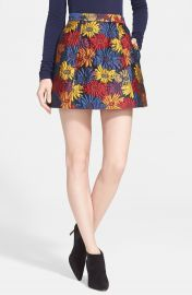 Alice   Olivia   x27 Loran  x27  Miniskirt at Nordstrom