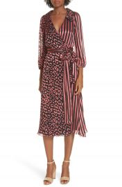 Alice   Olivia Abigail Wrap Dress at Nordstrom