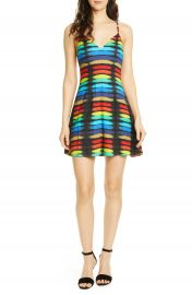 Alice   Olivia Alves Fit  amp  Flare Cocktail Dress   Nordstrom at Nordstrom