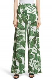 Alice   Olivia Athena Print Wide Leg Pants at Nordstrom