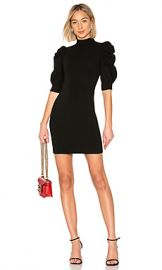 Alice   Olivia Brenna Dress in Black from Revolve com at Revolve