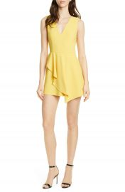 Alice   Olivia Callie Asymmetrical Minidress   Nordstrom at Nordstrom