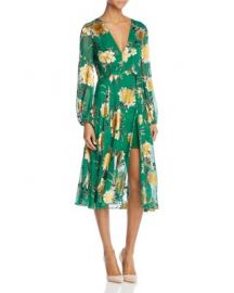 Alice   Olivia Coco Faux-Wrap Dress at Bloomingdales