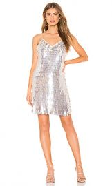 Alice   Olivia Contessa Dress in Off White  amp  Clear from Revolve com at Revolve