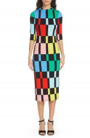 Alice   Olivia Delora Fitted Dress   Nordstrom at Nordstrom