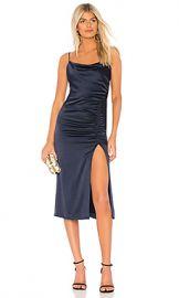 Alice   Olivia Dion Midi Slip Dress in Sapphire from Revolve com at Revolve