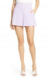 Alice   Olivia Donald High Waist Flared Shorts   Nordstrom at Nordstrom