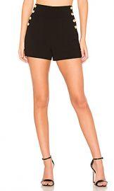 Alice   Olivia Donald High Waist Short in Black from Revolve com at Revolve