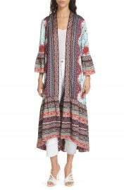 Alice   Olivia Dottie Reversible Long Kimono   Nordstrom at Nordstrom
