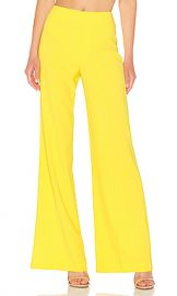 Alice   Olivia Dylan Wide Leg Pant in Sun from Revolve com at Revolve