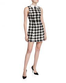 Alice   Olivia Ellis Zip-Front Dress at Neiman Marcus