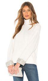 Alice   Olivia Gemini Turtleneck Sweater in Soft White from Revolve com at Revolve