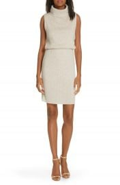 Alice   Olivia Hailee Blouson Sweater Dress   Nordstrom at Nordstrom