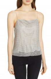 Alice   Olivia Harmon Crystal Chainmaille Camisole   Nordstrom at Nordstrom