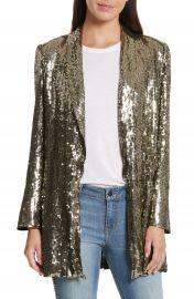 Alice   Olivia Jace Sequin Embellished Blazer at Nordstrom
