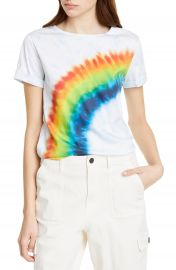 Alice   Olivia Jeans Shira Roll Sleeve Tee   Nordstrom at Nordstrom