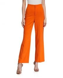 Alice   Olivia Lorinda Super High-Waist Ankle Pants at Neiman Marcus