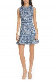 Alice   Olivia Rapunzel Embroidered Dress   Nordstrom at Nordstrom