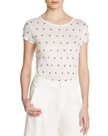 Alice   Olivia Robin Embellished Tee at Bloomingdales