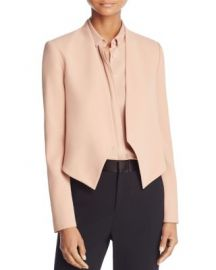 Alice   Olivia Roxanne Collarless Jacket at Bloomingdales