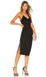 Alice   Olivia Stila Midi Dress in Black from Revolve com at Revolve