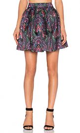 Alice   Olivia Stora Pleated Pouf Skirt in Ombre Deco from Revolve com at Revolve