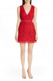 Alice   Olivia Zula Lace Minidress   Nordstrom at Nordstrom