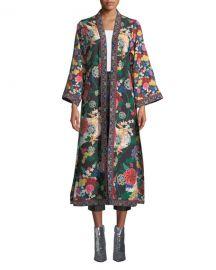 Alice   OliviaLynn Side-Slit Long Kimono at Neiman Marcus