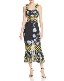 Alice McCall Flower Girl Cutout Midi Dress Women - Bloomingdale s at Bloomingdales