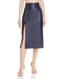 Alice McCall Sweet Street Leather Midi Skirt Women - Bloomingdale s at Bloomingdales